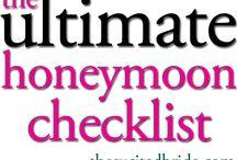 Planning your Honeymoon / Helpful tips to plan the perfect honeymoon.