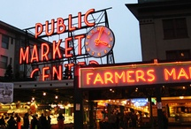 Pike Place Market / Pike Place Market - Located in downtown Seattle.  This is one of my top 5 urban spots to go. Living in Portland Oregon gives me many opportunities to make many a visits each year.