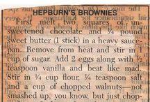 Hepburn brownies