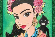 Frida Kahlo Art Celebration / Artists Celebrate Frida / by Rosepapa Creative