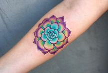 colorfully tatto