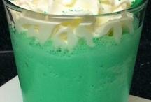 Milkshakes ans smoothies.