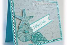 "Stampin up ""By the Seashore"""