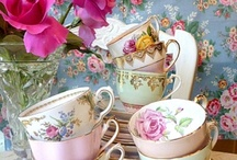 Tea cups and old lady glam