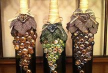 Wine bottle and cork projects / by Beth Painter