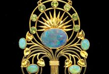 Ékszerek - Art Nouveau