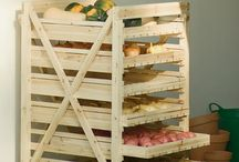 cajones reciclados para fruta