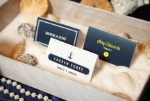 Seating Charts, Signs, Place cards / Anything for the reception