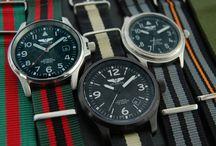 NATO straps / pilot watches