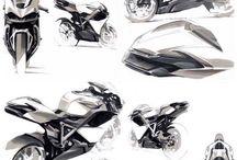motercycle design sketches