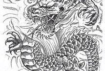 Tattoos Dragão
