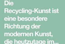 Recyclingkunst   .