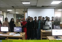 Training on Department Micro websites / QEC/Learning Centre organized training for the faculty & staff of University of Lahore on 10th Dec, 2013.  The objective of the training is to train the participant on how to updating information on departmental micro websites.