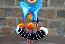 Murano Glass Clowns