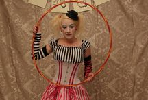 Circus carnival costumes
