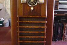 Vintage Radio Cabinets / Repairs and refinishing of vintage radio cabinets.