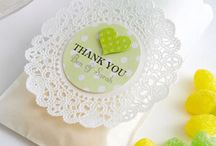 Party favors / Party favor inspiration / by Paula Biggs for Frog Prince Paperie