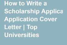 Uni scholarship application