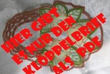 Klöppelbriefe / hier gibt es Klöppelbriefe
