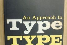 Books on Typography / inspired by http://www.tdc.org/helpful-resources/