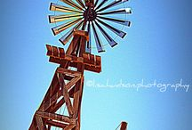 Wild West windmill