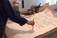 Brushwork / Calligraphy brushwork