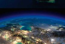 Photos of Earth from space.