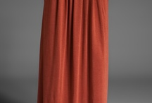 Maxi Skirts in nude or neutral