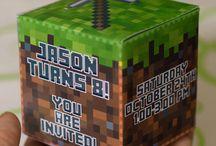 minecraft birthday / by Jamie Green