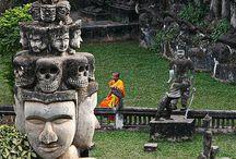 Лаос Будда парк