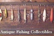 Old Fishing Tackle / by Peggy Deatherage