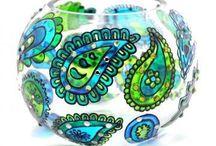 Malovane poháre