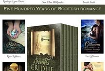 The Guardians of Cridhe / Seven original novellas by seven best selling authors of Scottish historical romance <3  / by Lily Baldwin