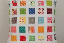 #PillowTalkSwapIGstyle inspiration / Hey partner! I like bright/scrappy/modern/patchwork. I also like traditional blocks with a modern twist. I'm sure anything you make will be fabulous!