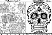 Coloring Pages / Take a break and color!