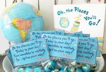 oh the places you'll go theme ideas