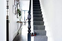 Home - painted staircase