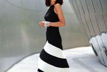 black and white fashion / by Sharron Saffert