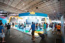 Campus Party Brasil 2014 / O #SubmarinoURC esteve na #cpbr7 com um estande irado e uma batalha de robôs de deixar qualquer um doido! Já conferiu?   Fotos por Maurício Santana