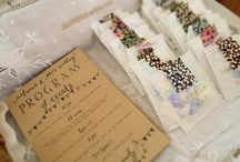 Wedding Programs and Menus
