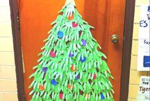 Cristmas door decorations