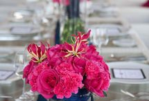 Navy & Fuchsia Wedding Inspo