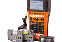 Brother P-touch Edge Labelling / Label makers for data comm and electrical tradies. Make professional labels on the fly with this handheld, WiFi enabled laminated printer.