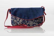 sochouette - Pochettes et sacs tissus liberty étoiles - sofkipeut / Voici une sélection de pochettes et sacs en tissus liberty étoiles créateur : sofkipeut
