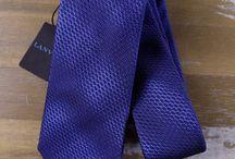 Luxury Ties / Silk, cashmere, wool, linen - Hand-made luxury ties