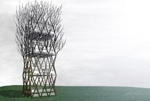 growing buildings / by Jon Henzell