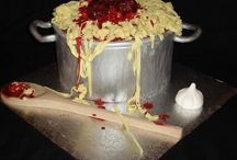 Cake tagliatelle