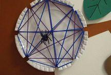 Thema Spinnen Kleuters