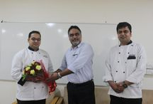 """CAREER PATH FOR A CHEF / Faculty of Hospitality organized GUEST LECTURE on """"CAREER PATH FOR A CHEF"""" by CHEF RAHUL RAWAT. Chef Rahul shared his experience and knowledge with the students and guided them for a progressive & successful career as a chef. A great interaction between the chef and students was witnessed in today's session."""