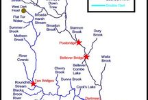 Information for visiting anglers / Maps, accommodation, rod licences, fishing permits etc for anglers fishing on rivers on and around Dartmoor, Devon, UK